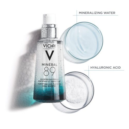 VICHY_MINERAL 89 - Fortifying and Plumping Daily Booster - NM PACK & 2 CUPS