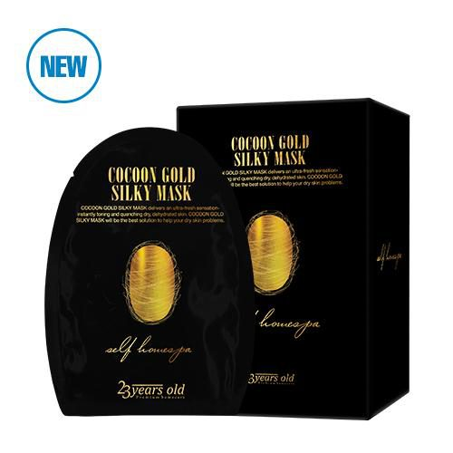 Cocoon Gold Silky Mask