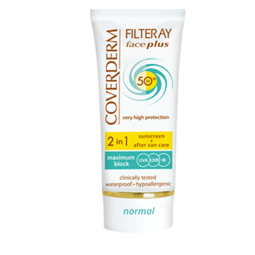 FILTERAY FACE PLUS SPF 50+ NORMAL NORMAL